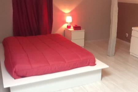 Chambre 40 m2 - Gavarret-sur-Aulouste - Hus
