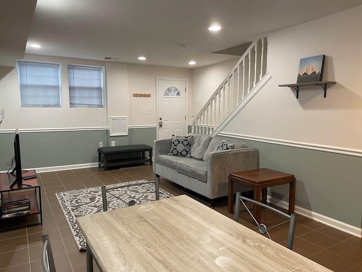 Cozy basement suite with separate entrance