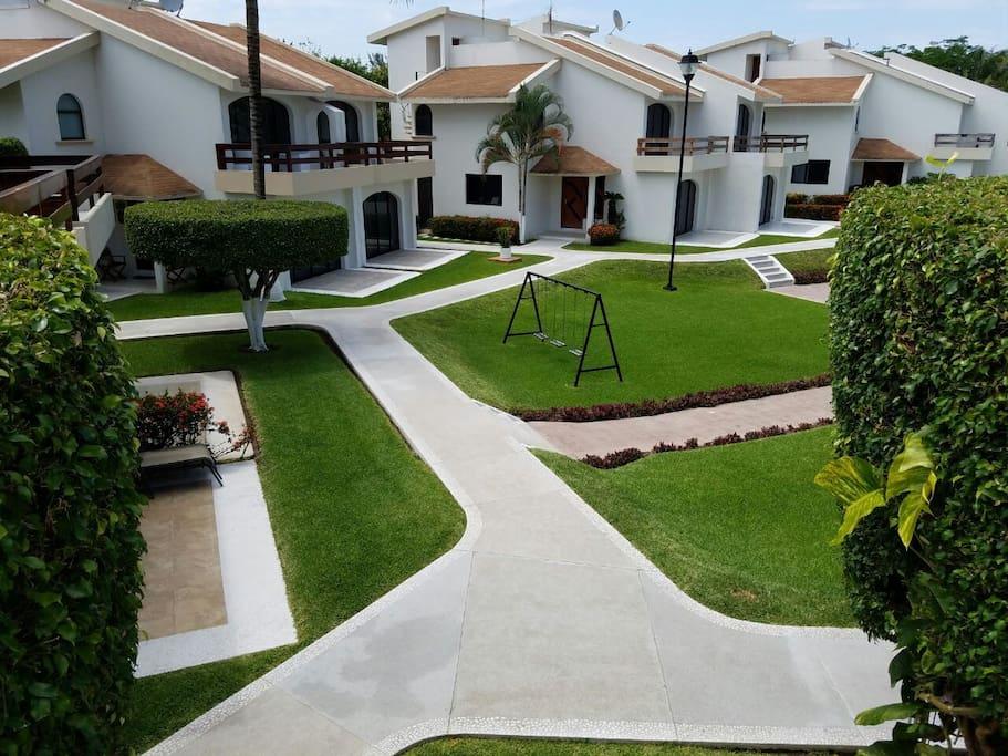 Vista de terraza recámara principal