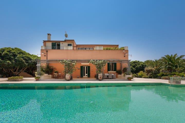 571 Penthouse with Pool in Casarano Gallipoli - Casarano - Villa