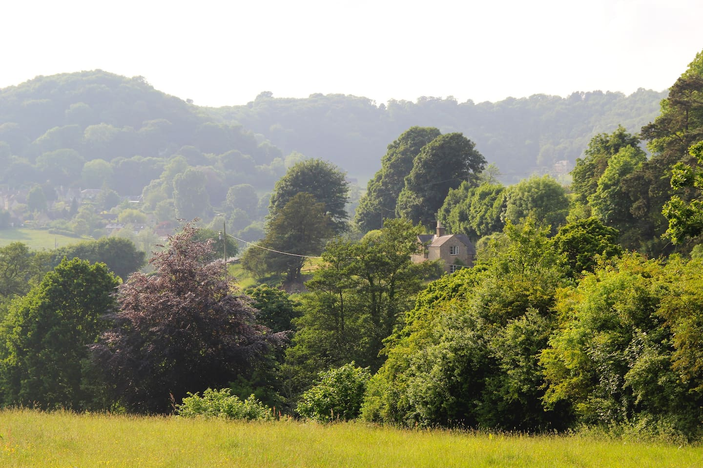 Marlings End stands in a private valley setting with stunning southerly views.