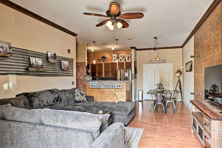 NEW! Cozy Chattanooga Condo - Southside Downtown!