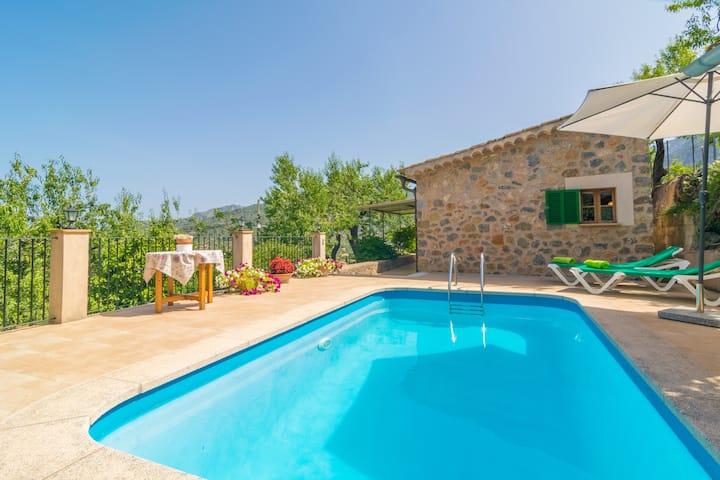 CAN FABIOL - Villa con piscina privada en Sóller.
