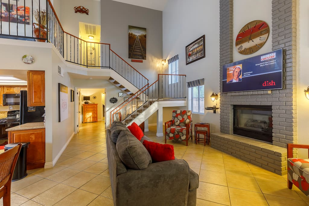 The Wine Loft Living Room (Main Level)