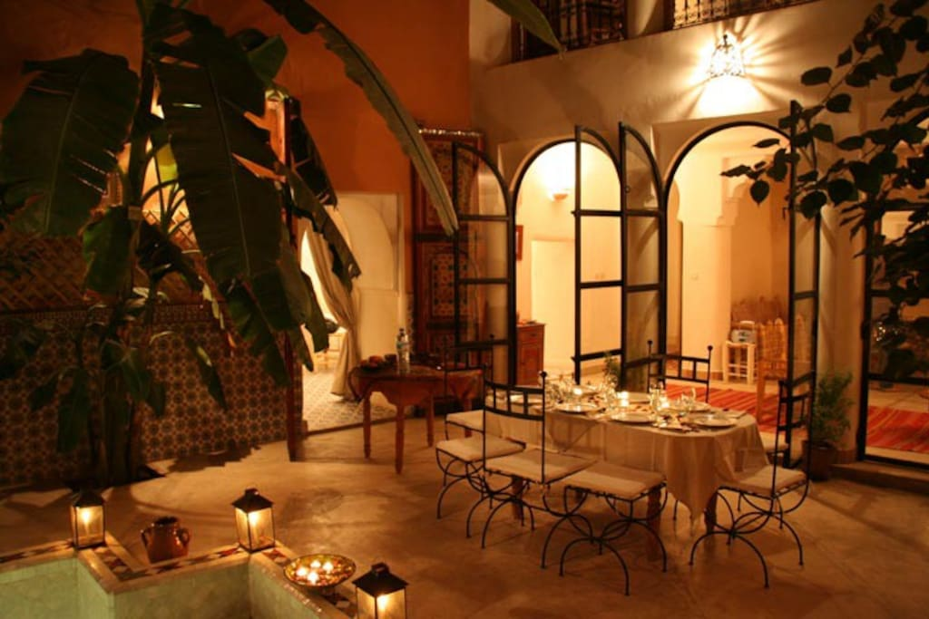 Riad ineslisa 4 welcome at home chambres d 39 h tes for Chambre d hotes marrakech