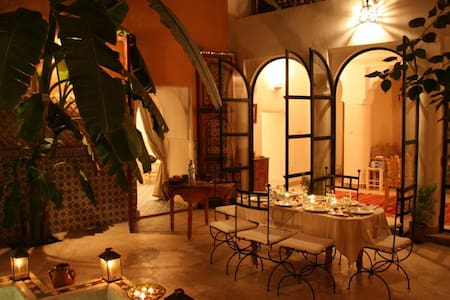 "Riad Ineslisa 3 :  ""Welcome at home"" - Marrakesh - Bed & Breakfast"