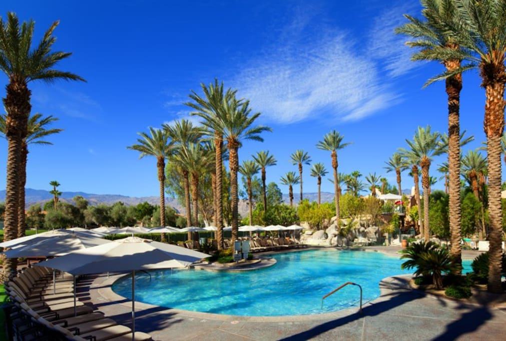 One of many pools at Westin Mission Hills Resort Villas