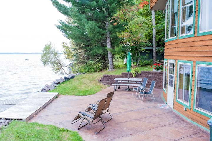 Guest suite on Portage Lake with Sauna