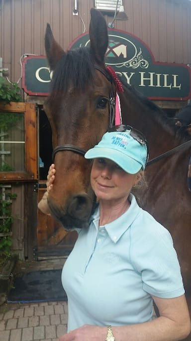 Kathy Fremes, who owns Country Hill Farm believes that great horses are made with skill and patience.