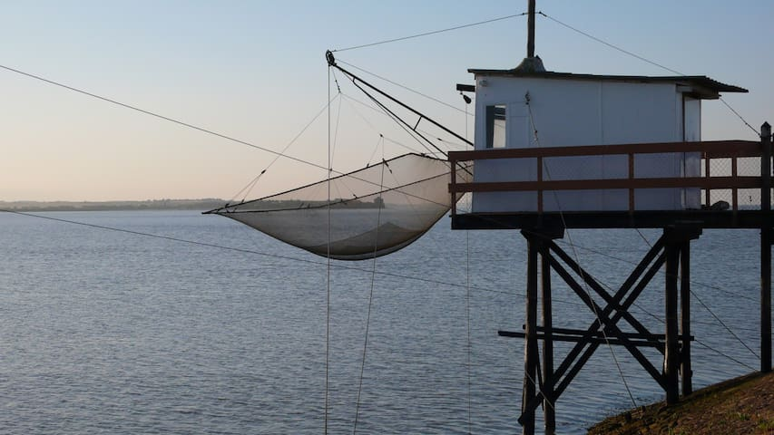 Duplex sympa au Port de Meschers - Meschers-sur-Gironde - Apartemen