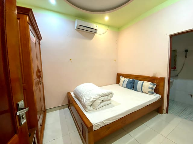 Private room for two people, bathroom inside