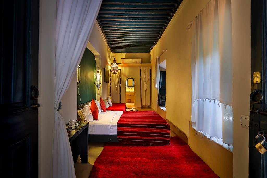 Dar sara suite chambres d 39 h tes louer marrakech for Chambre d hotes marrakech