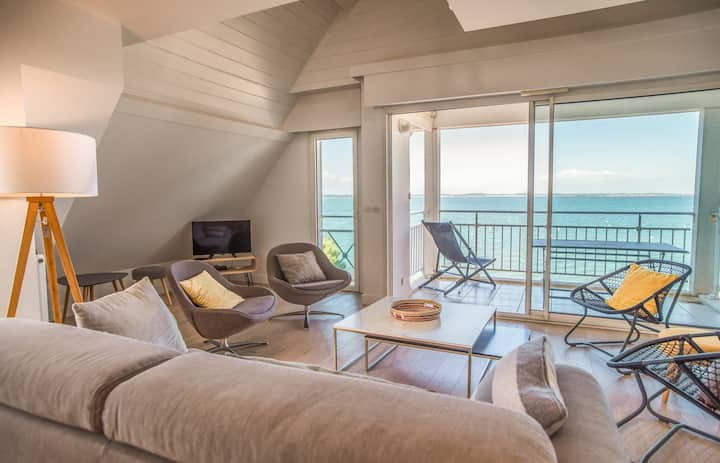 Magnificent T3 in Arcachon for 6 people, balcony and private access to the