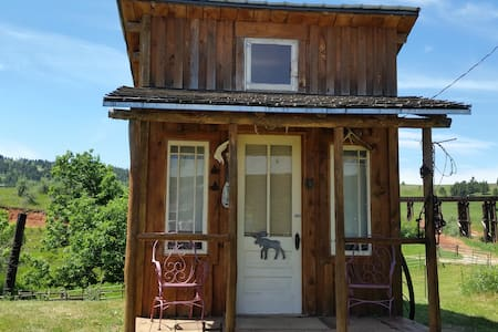 Rustic Working Ranch Line Shack