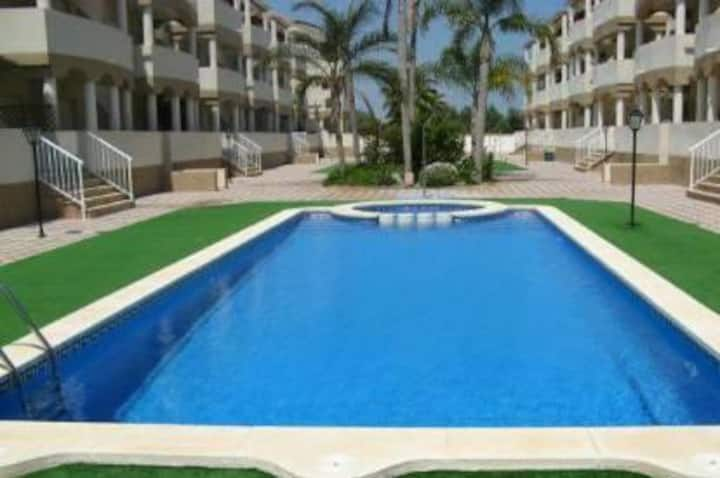 Well appointed family apartment in Vinaros