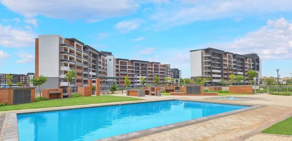 Luxury corporate apartments with private balcony