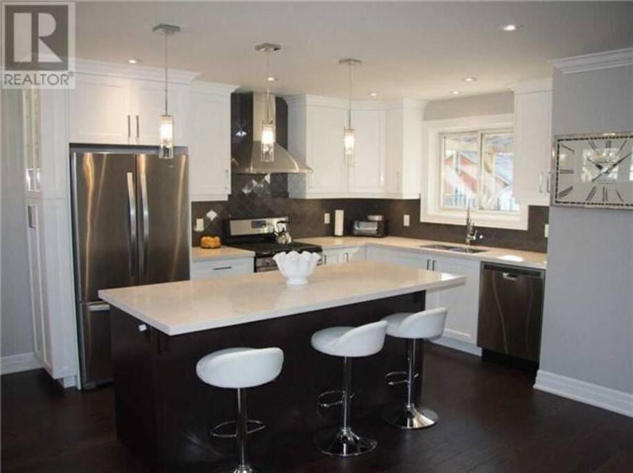 New bright kitchen