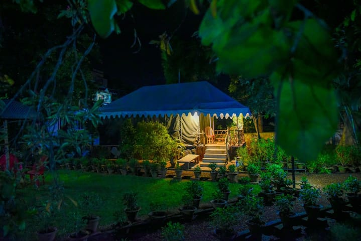 Nibhriti - the tent home stay! | Shantiniketan