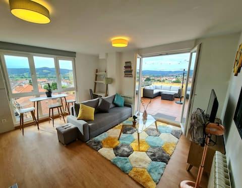 Luminoso apartamento con gran terraza