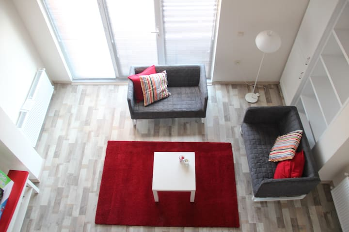 Very nice loft house in central location!! - Kepez Belediyesi - Apartment
