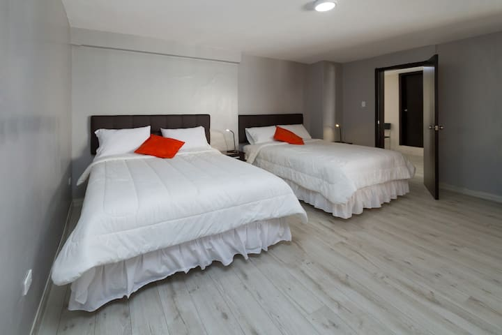 Double Room with 2 Queen Size beds