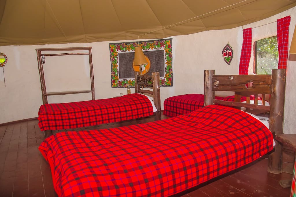 Luxury Cottage with 3 single beds