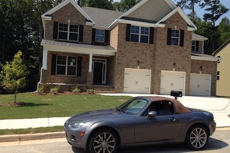 Metro Atlanta Home Near Airport - Stockbridge