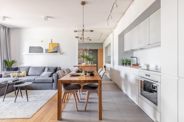 Apartament MIŁOSZA z tarasem
