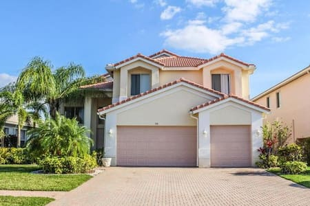 Exquisite Private Home Get Away - Royal Palm Beach - 一軒家