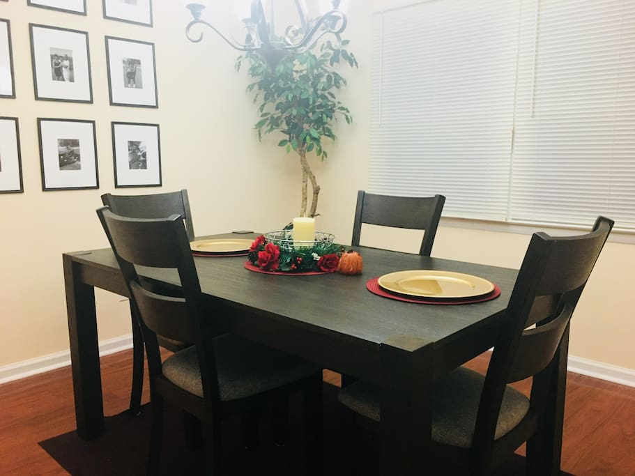 Have a meal in the dining room
