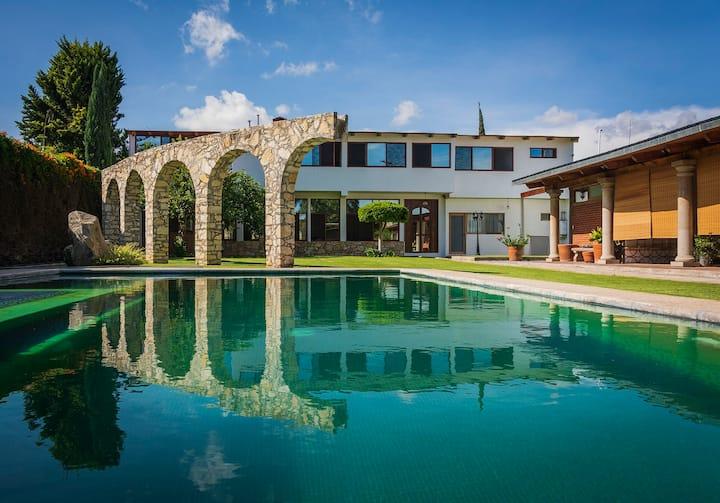 La Casa del Jaguey, in Atlixco.