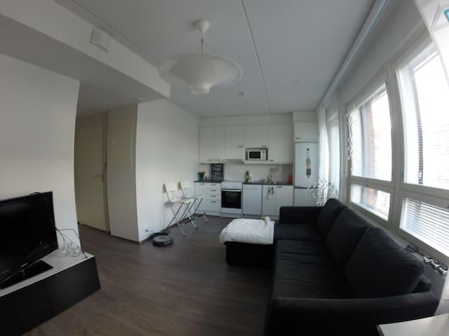 Lovely apartment with best location in Jyväskylä - Jyväskylä - Apartemen