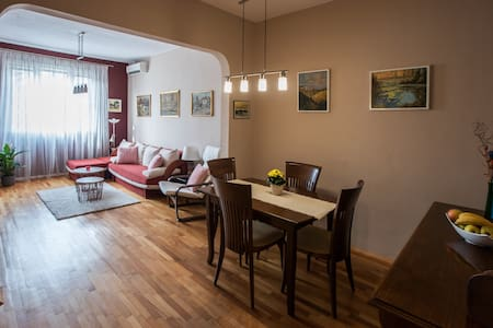Artistic and Spacious  Apartment in Sofia