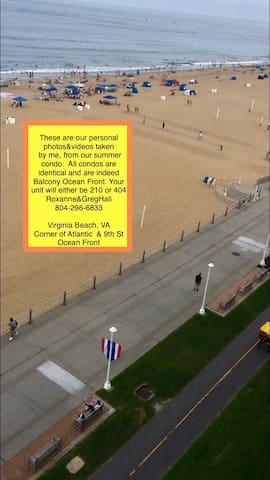 Virginia Beach Oceanfront Condo at hotel prices
