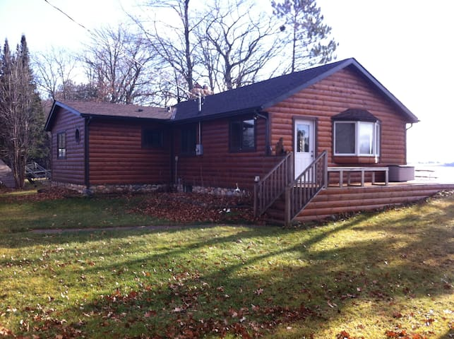 Two bedroom vacation rental on Sturgeon Lake