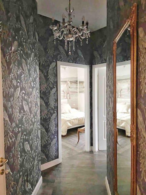 Luxury Garden Apartment, geweldige locatie
