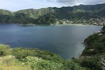 Vista de Taganga y alrededores