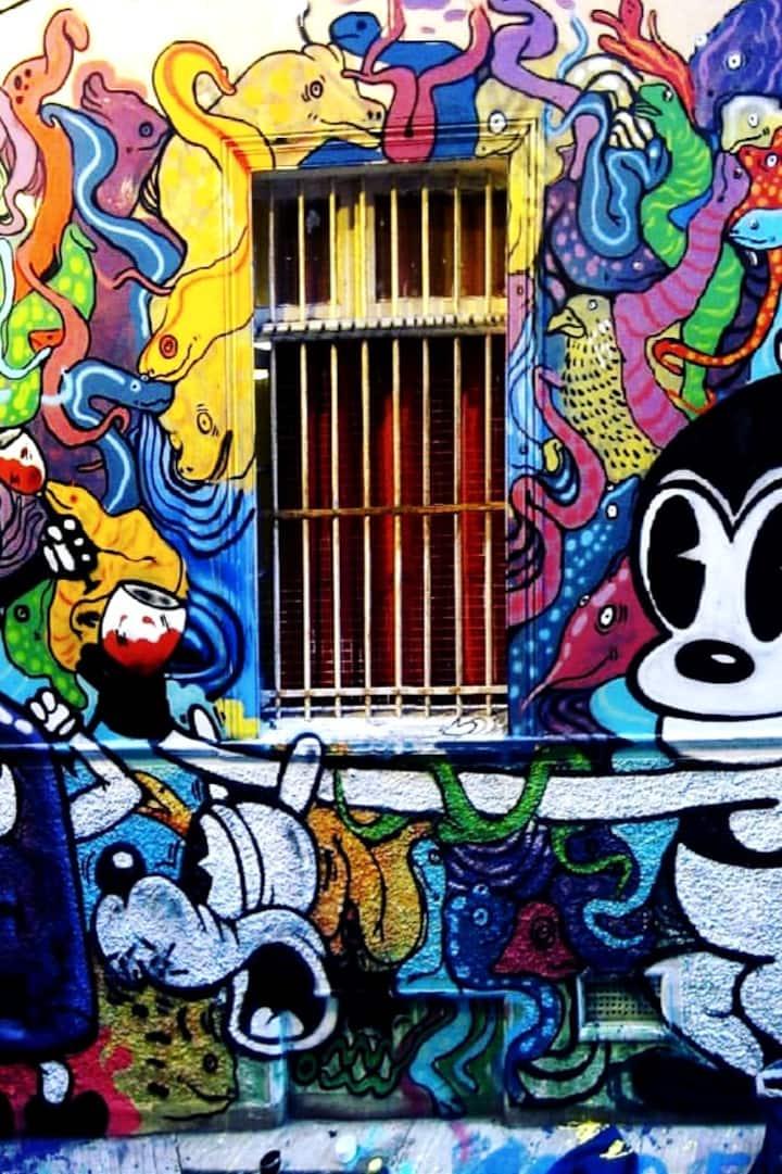 Street Art and Graffiti en route