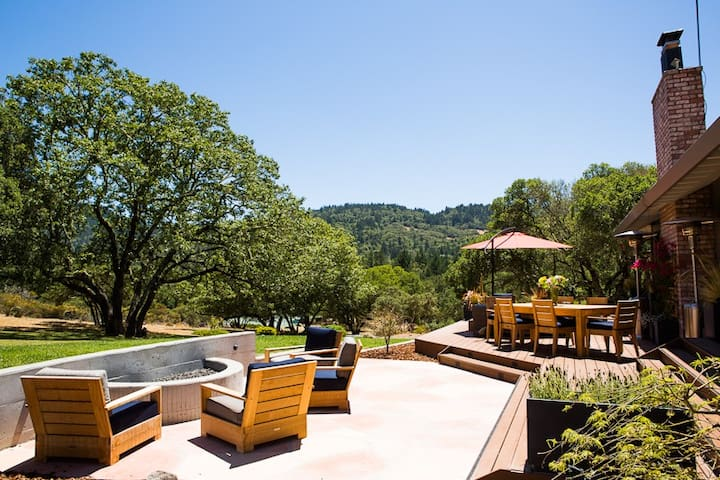 Modern Luxury Ranch in the California Wine Country