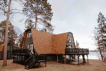 Atlas A-frame // An A-frame on Lake Adney!