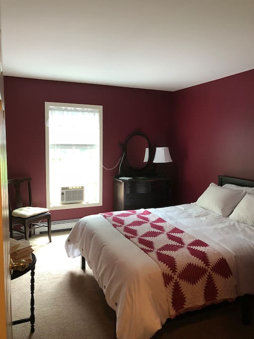 The New Cranberry Queen Bedroom