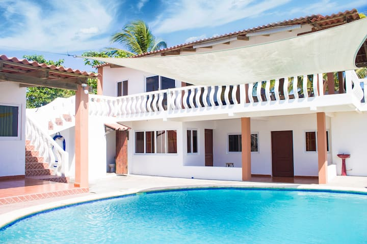 Casa frente al mar, Playa El Pimental - Ocean View