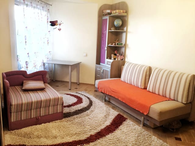 Кімната(1-3людини) в новобудові 30хв від центру