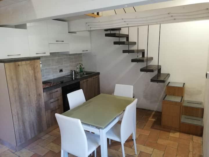 Mini-appartamento tra Umbria e Toscana