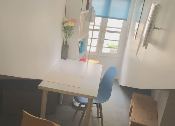 Studio, Paris 6ème (Saint Germain des Prés) calme!