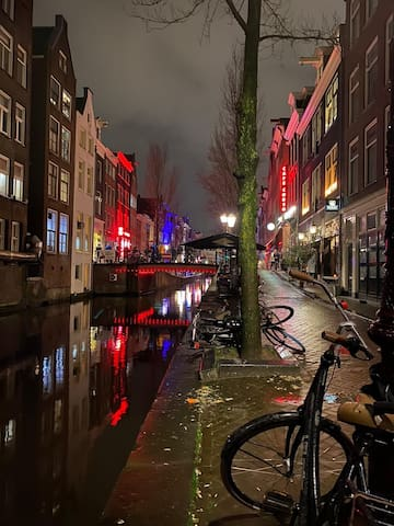 In the heart of Amsterdam!