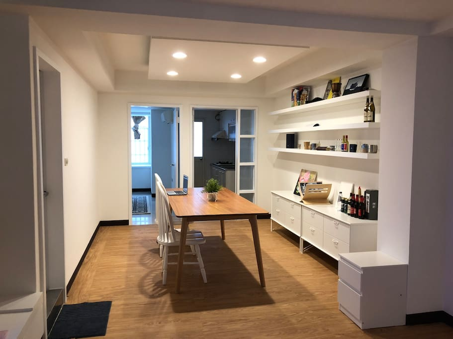 A newly renovated apartment.