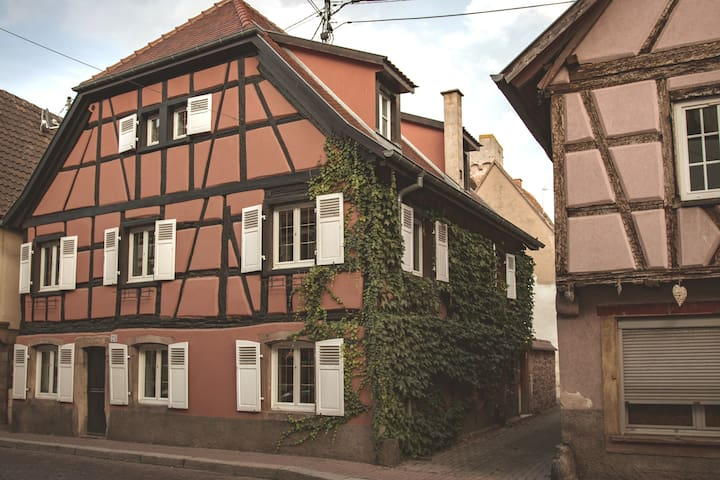 Wonderful Alsatian house entirely renovated.