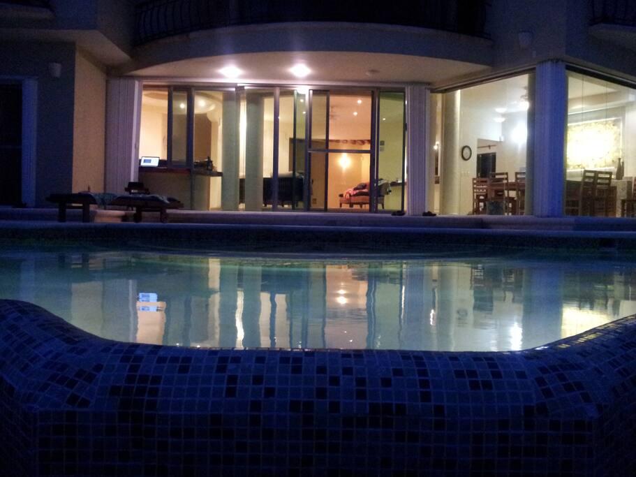 Villa Arghy at Night