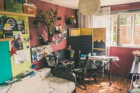 уютная квартира с двумя комнатами